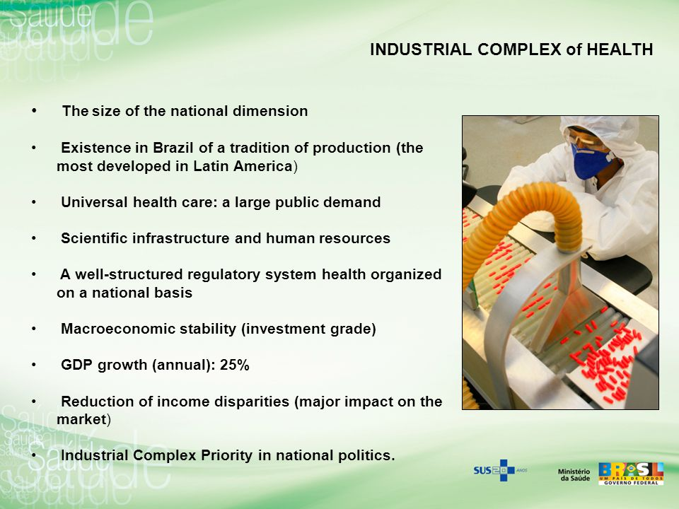 INDUSTRIAL COMPLEX of HEALTH