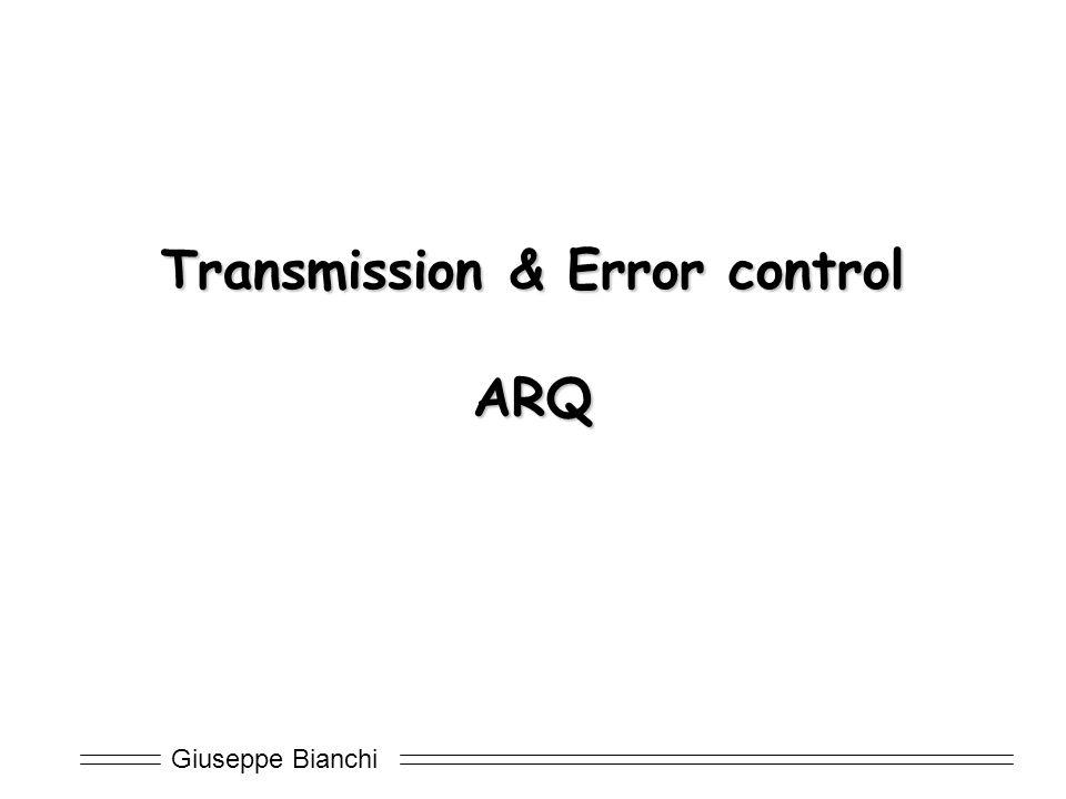Transmission & Error control