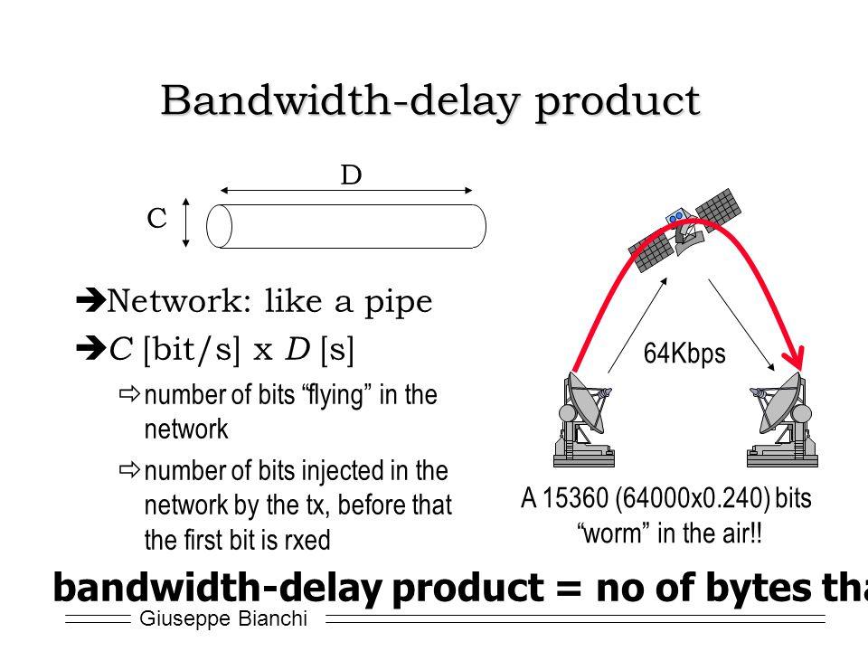Bandwidth-delay product