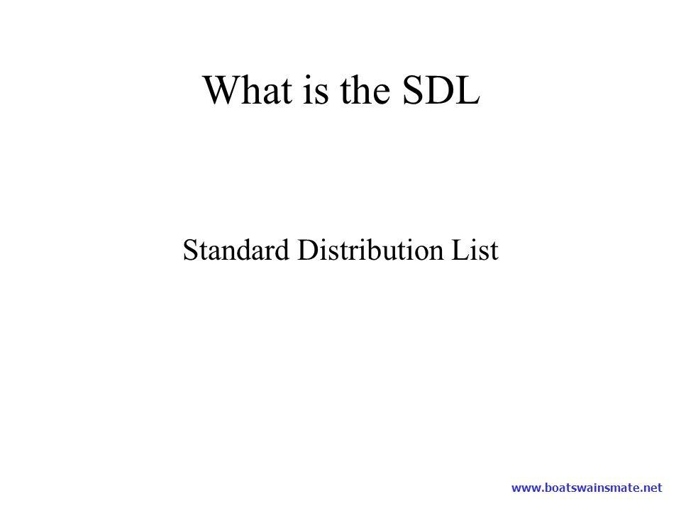 Standard Distribution List