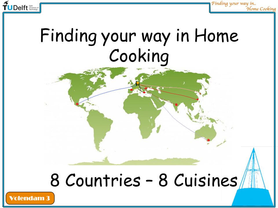Finding your way in Home Cooking