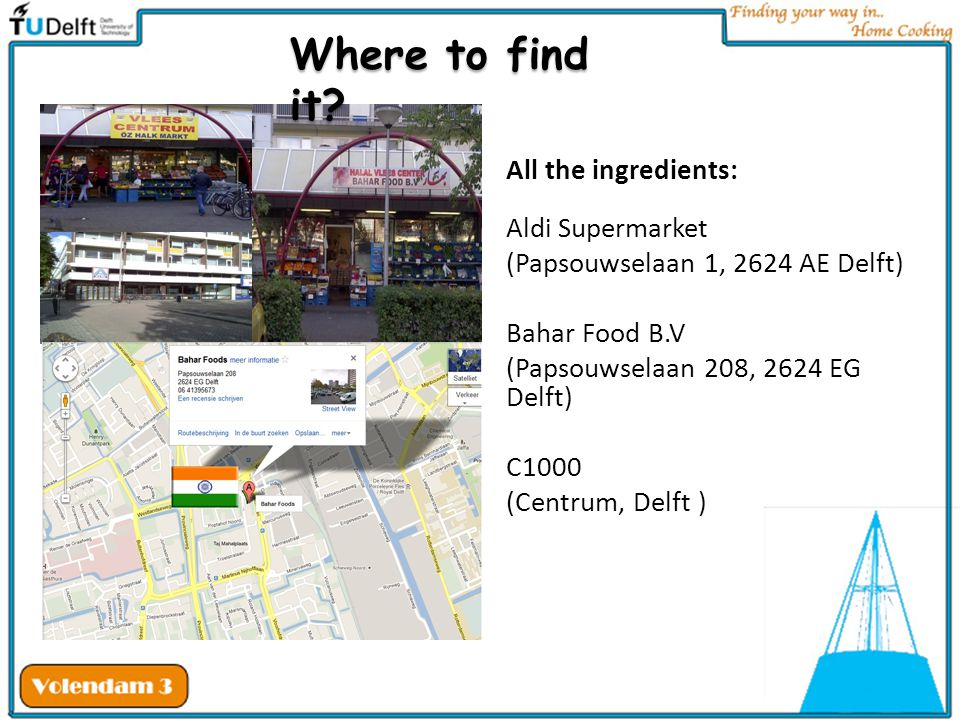 Where to find it All the ingredients: Aldi Supermarket