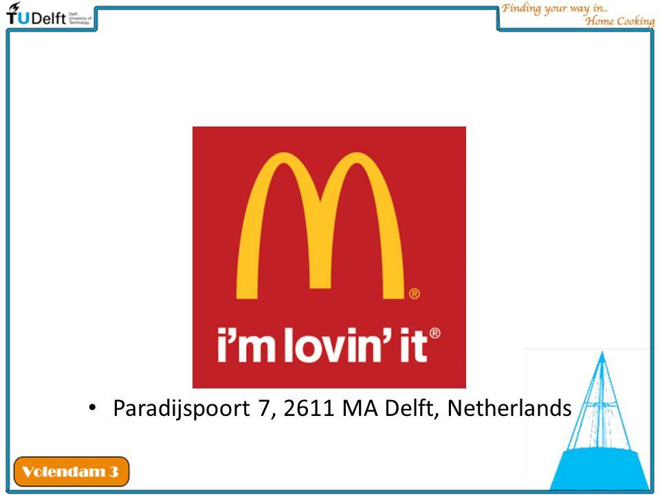 Paradijspoort 7, 2611 MA Delft, Netherlands