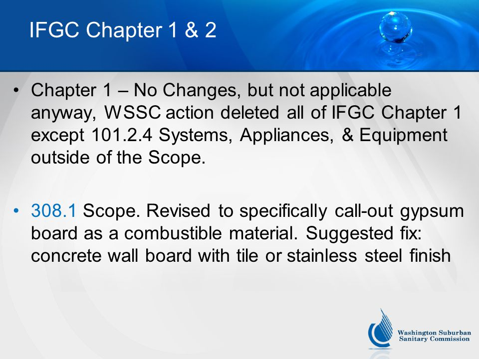 IFGC Chapter 1 & 2