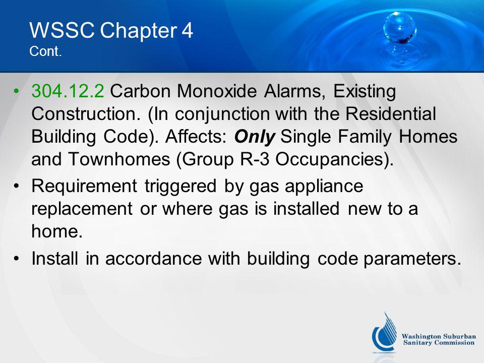 WSSC Chapter 4 Cont.