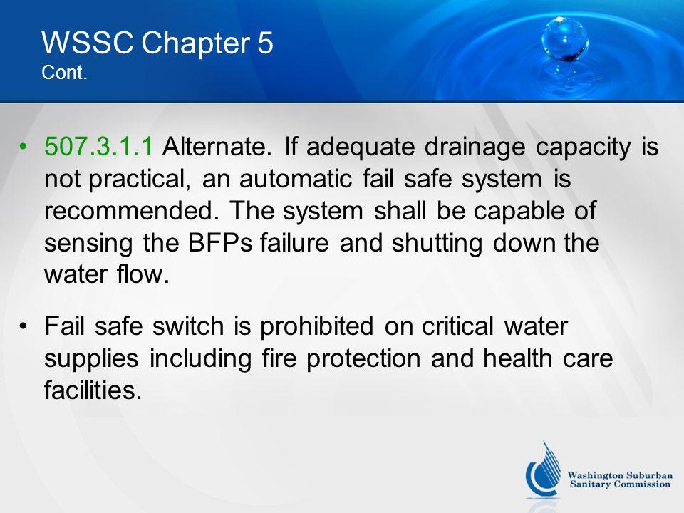 WSSC Chapter 5 Cont.
