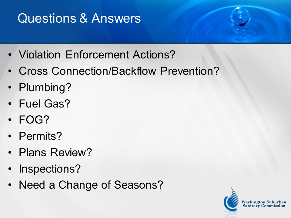 Questions & Answers Violation Enforcement Actions