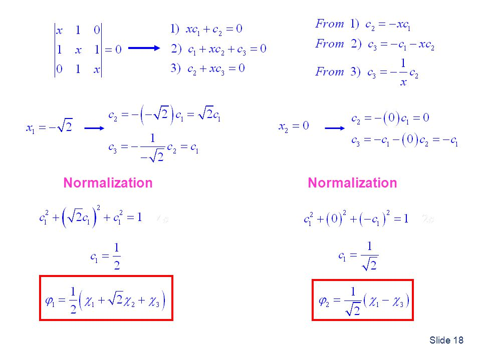 Normalization Normalization