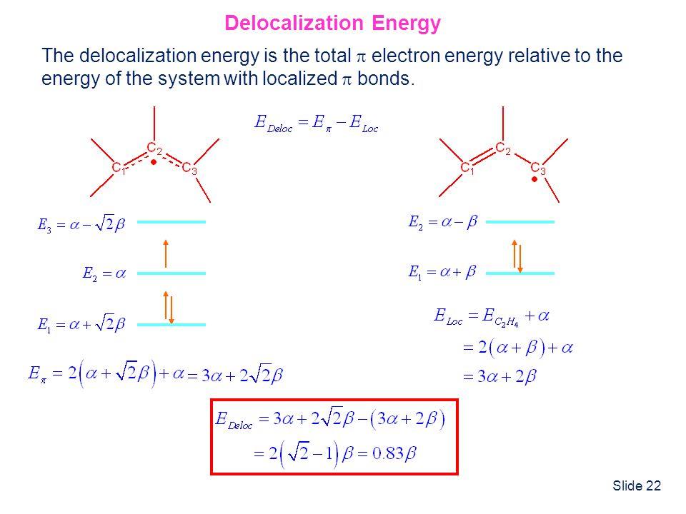 Delocalization Energy