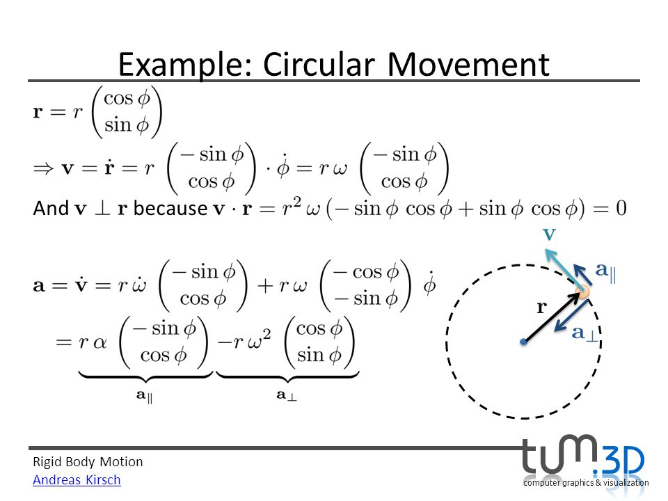 Example: Circular Movement