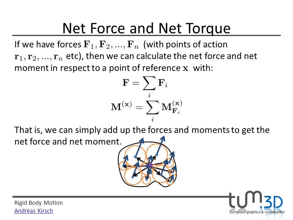 Net Force and Net Torque