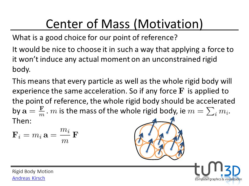 Center of Mass (Motivation)