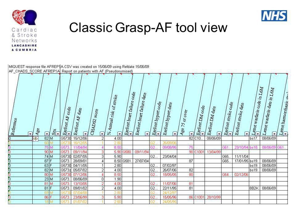 Classic Grasp-AF tool view