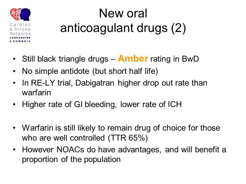 New oral anticoagulant drugs (2)