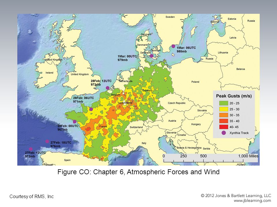 Figure CO: Chapter 6, Atmospheric Forces and Wind