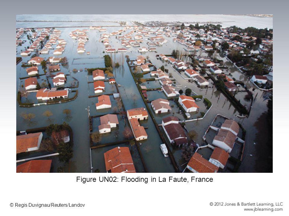 Figure UN02: Flooding in La Faute, France
