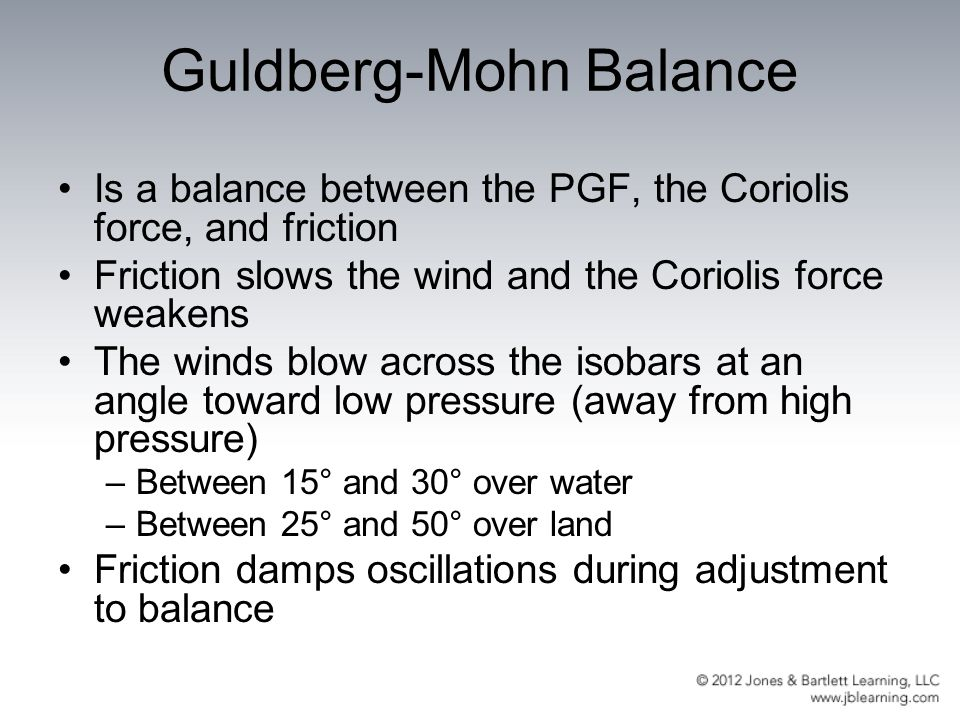 Guldberg-Mohn Balance
