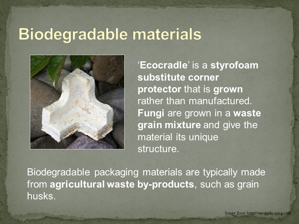 Biodegradable materials