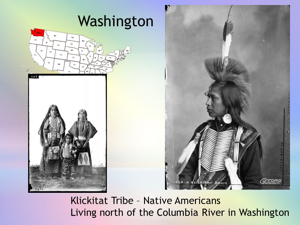 Washington Klickitat Tribe – Native Americans