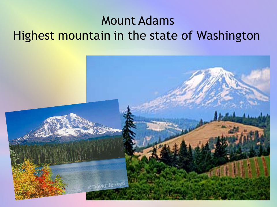 Highest mountain in the state of Washington
