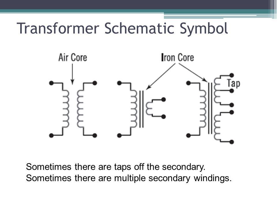 Transformer Schematic Symbol