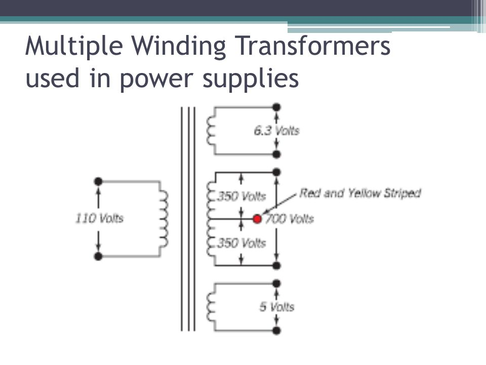 Multiple Winding Transformers used in power supplies