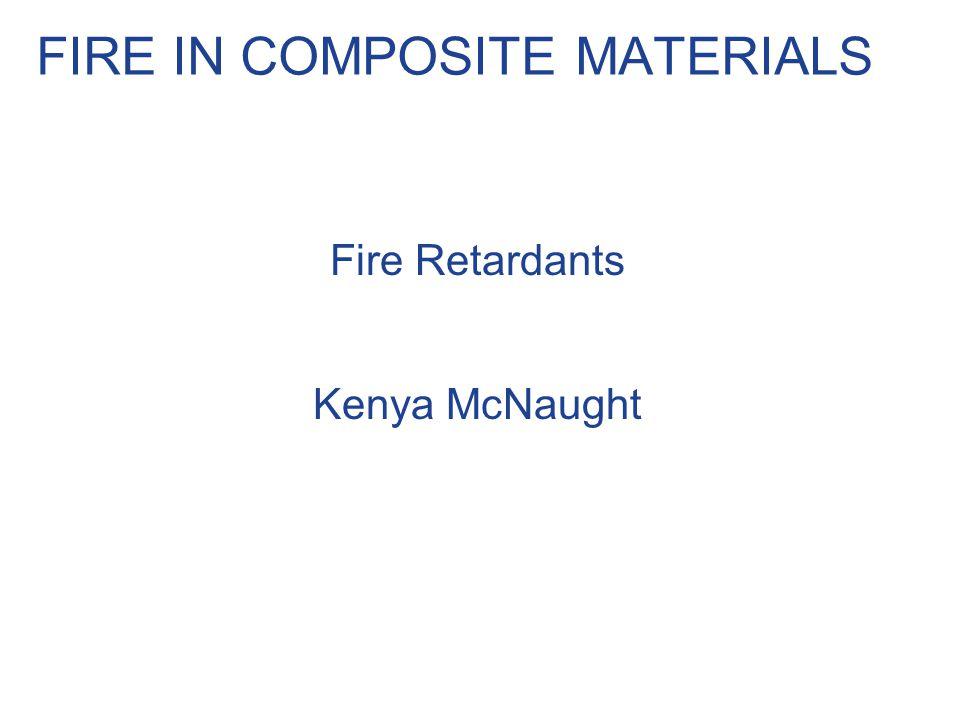 FIRE IN COMPOSITE MATERIALS