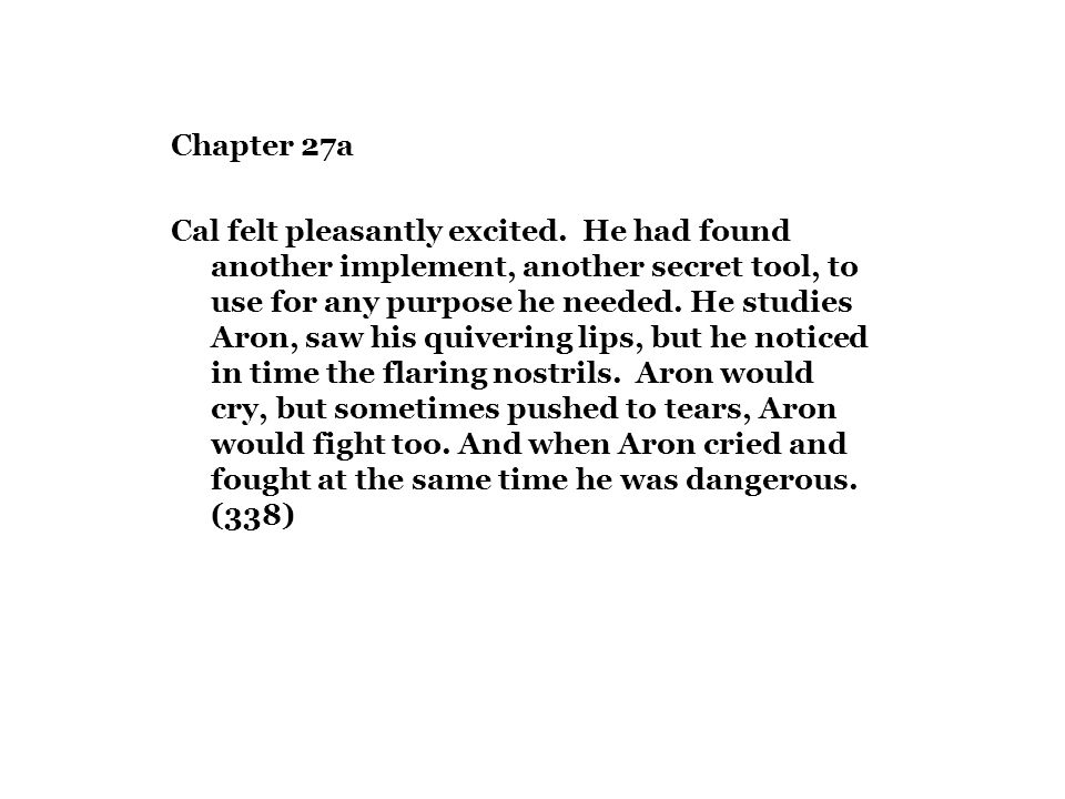 Chapter 27a