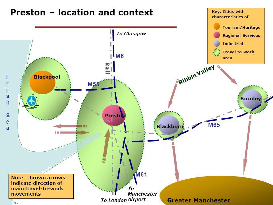 Preston – location and context