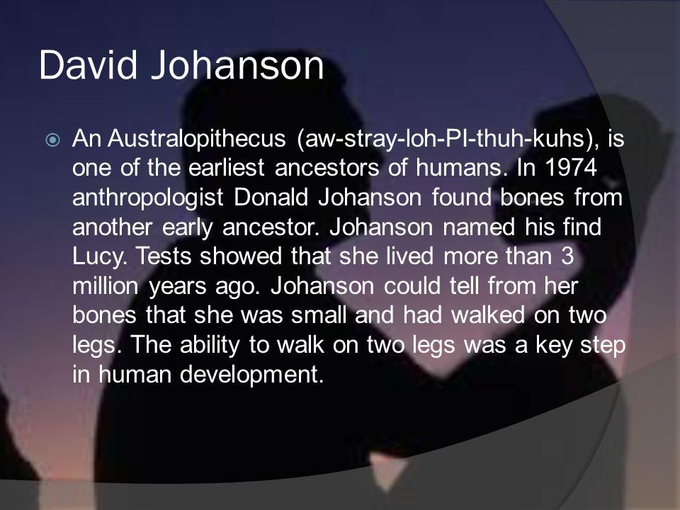 David Johanson