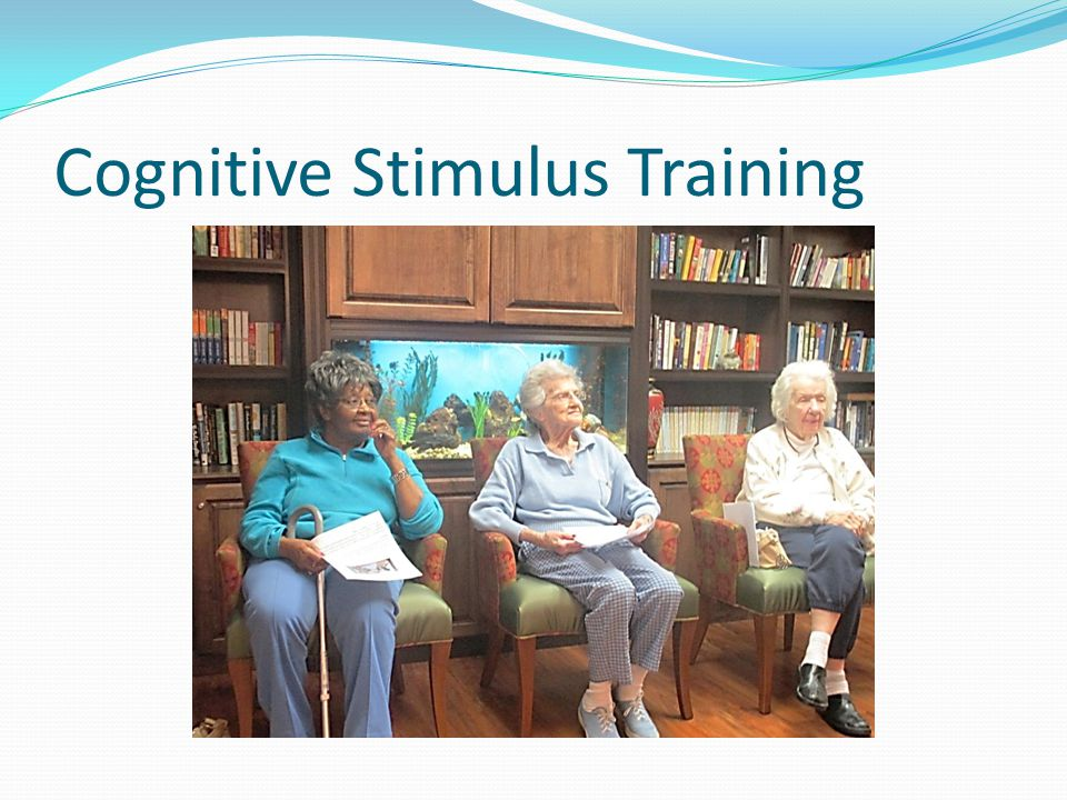 Cognitive Stimulus Training