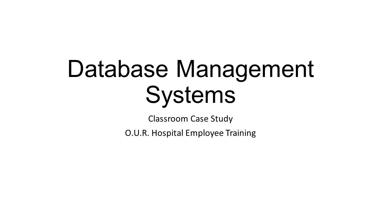 COMPGC06 - Database Systems