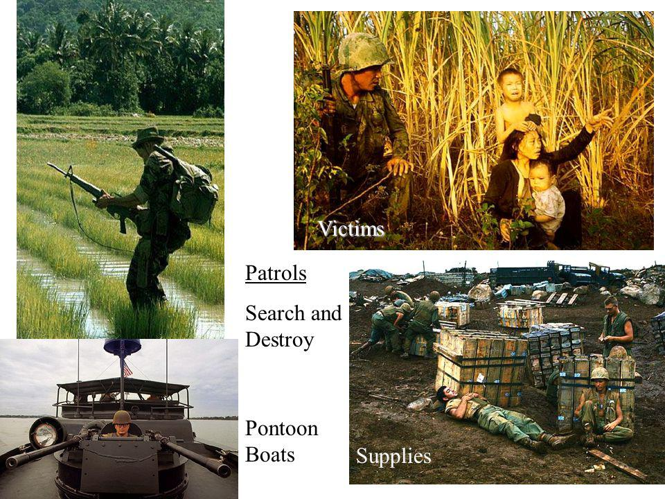 Victims Patrols Search and Destroy Pontoon Boats Supplies