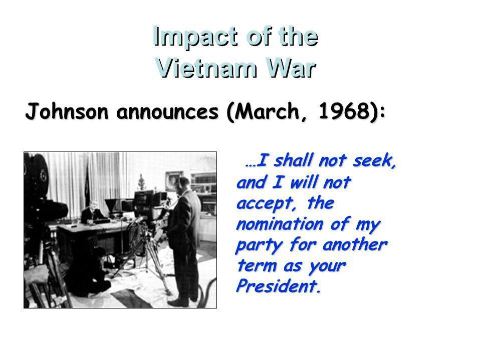 Impact of the Vietnam War