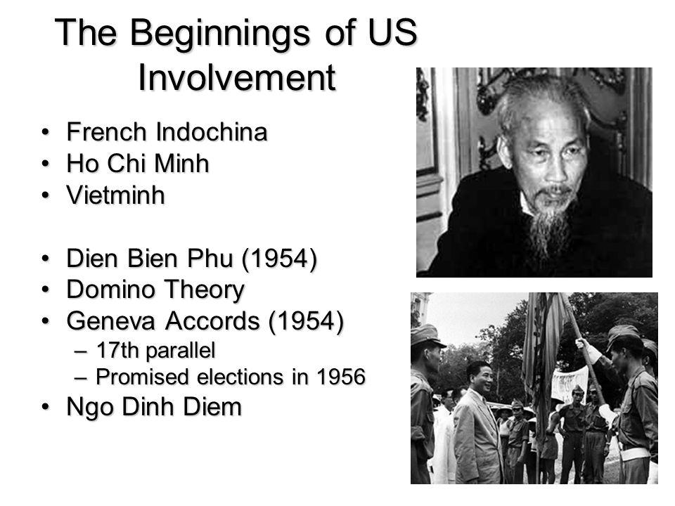 The Beginnings of US Involvement