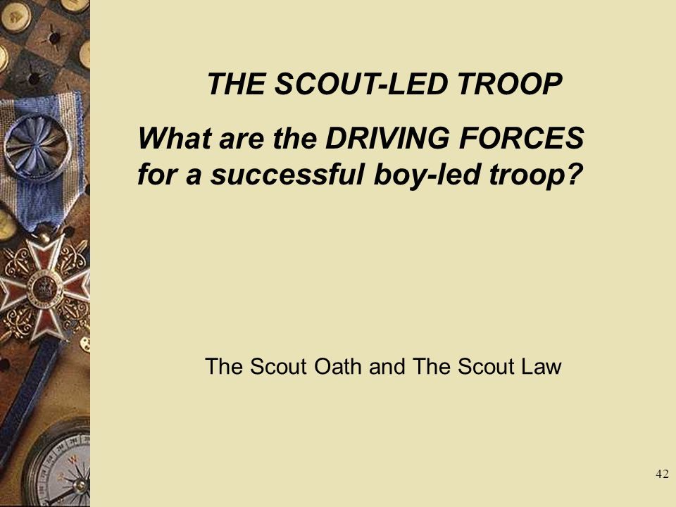 The Scout Oath and The Scout Law