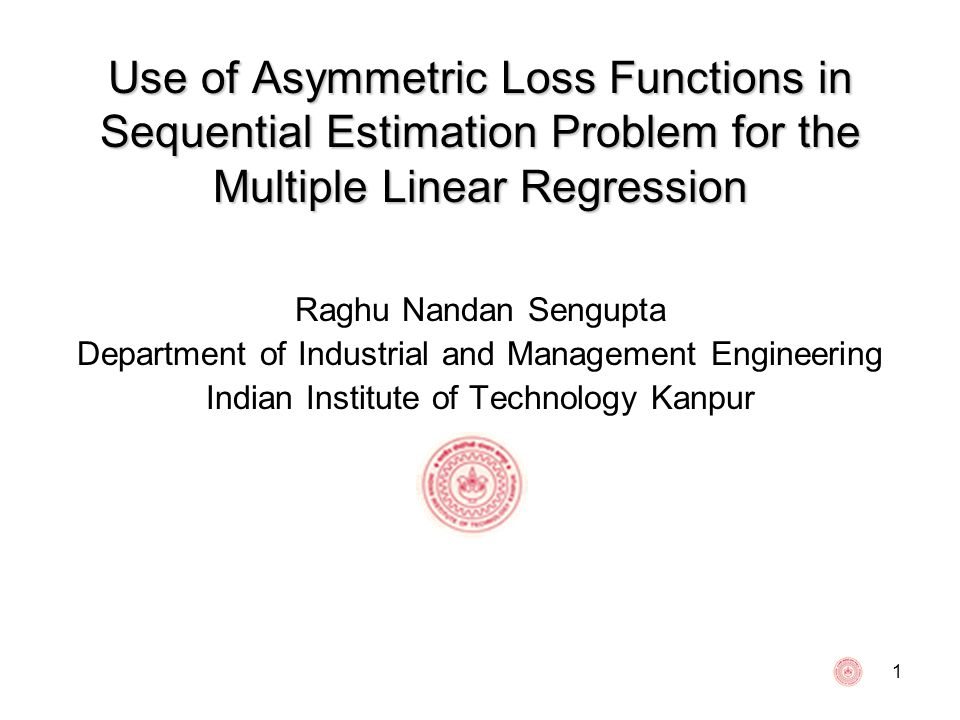 Use of Asymmetric Loss Functions in Sequential Estimation Problem for the Multiple Linear Regression