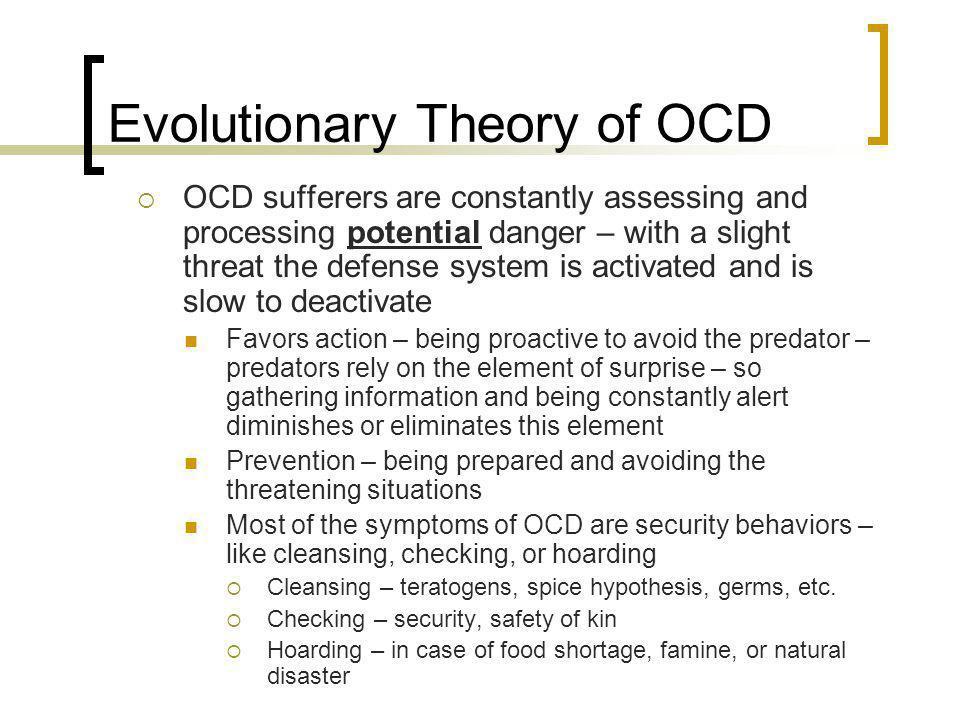 Evolutionary Theory of OCD