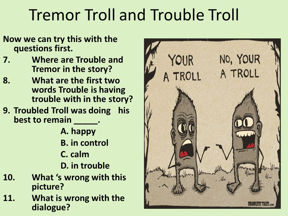 Tremor Troll and Trouble Troll