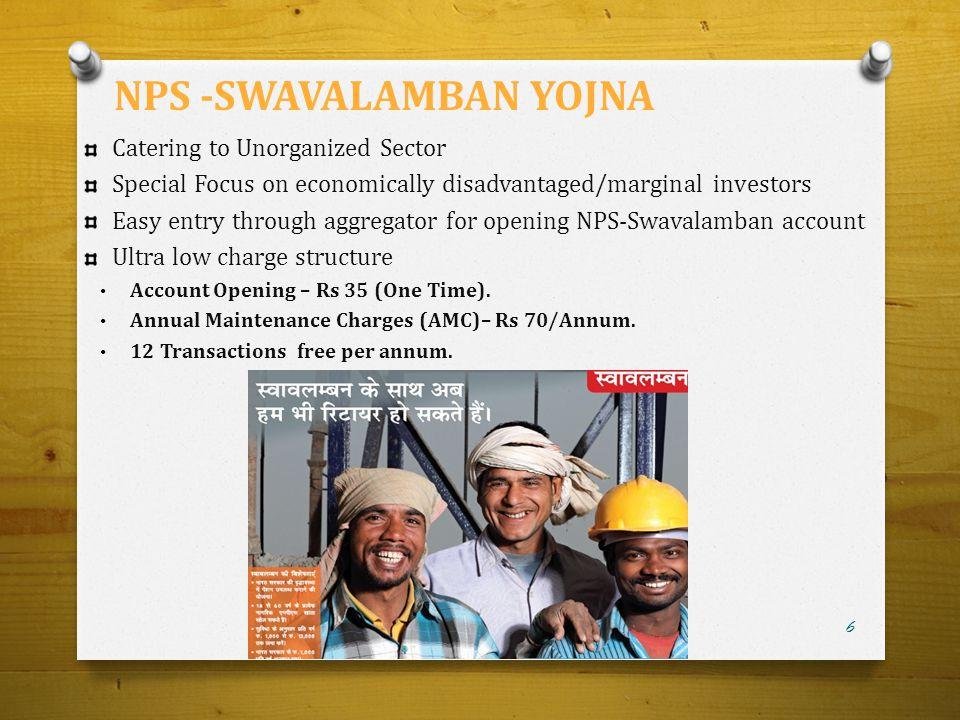 NPS -SWAVALAMBAN YOJNA
