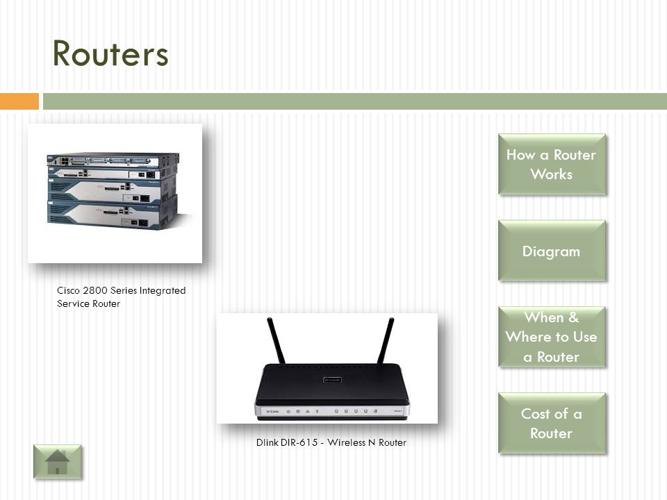 When & Where to Use a Router