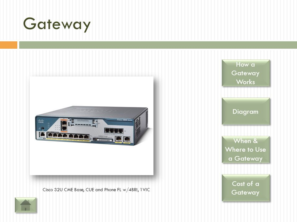 When & Where to Use a Gateway