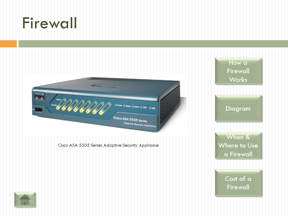 When & Where to Use a Firewall