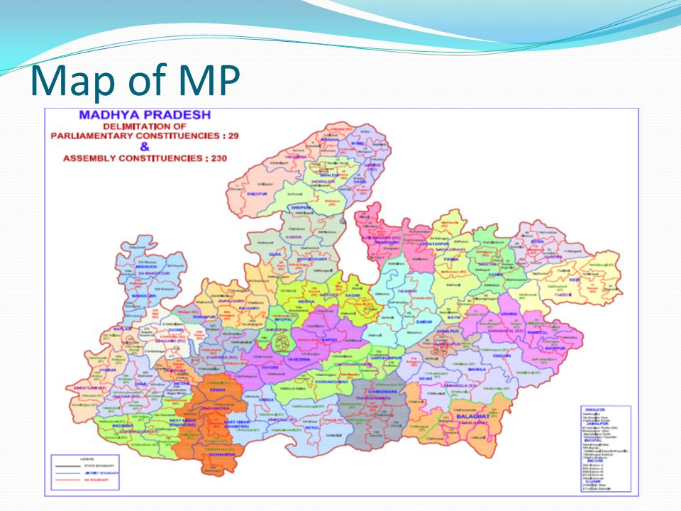 Map of MP