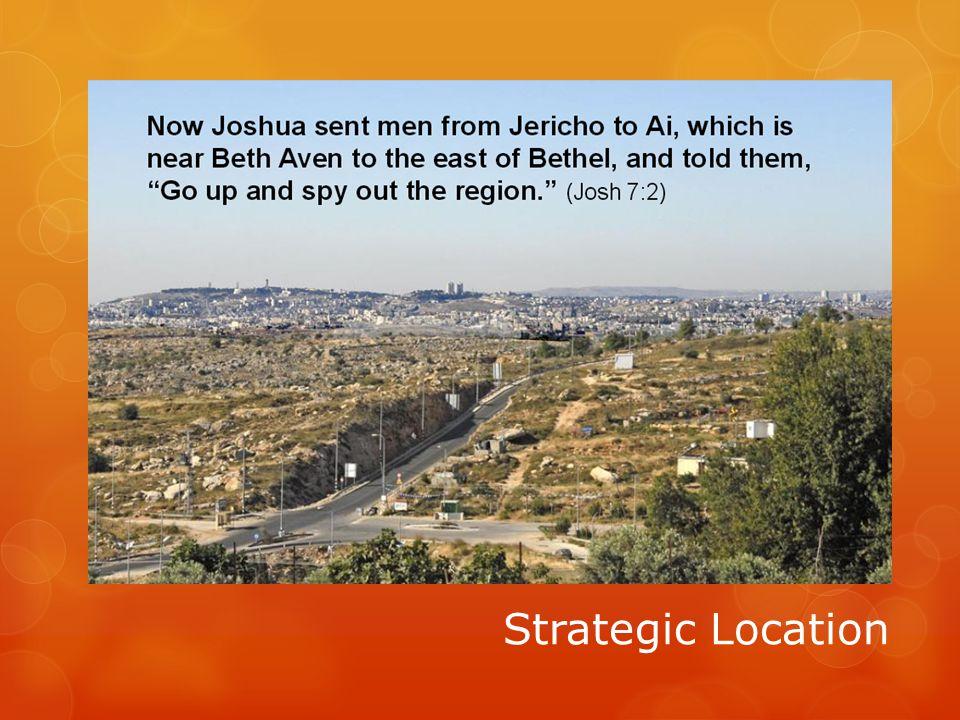 Strategic Location