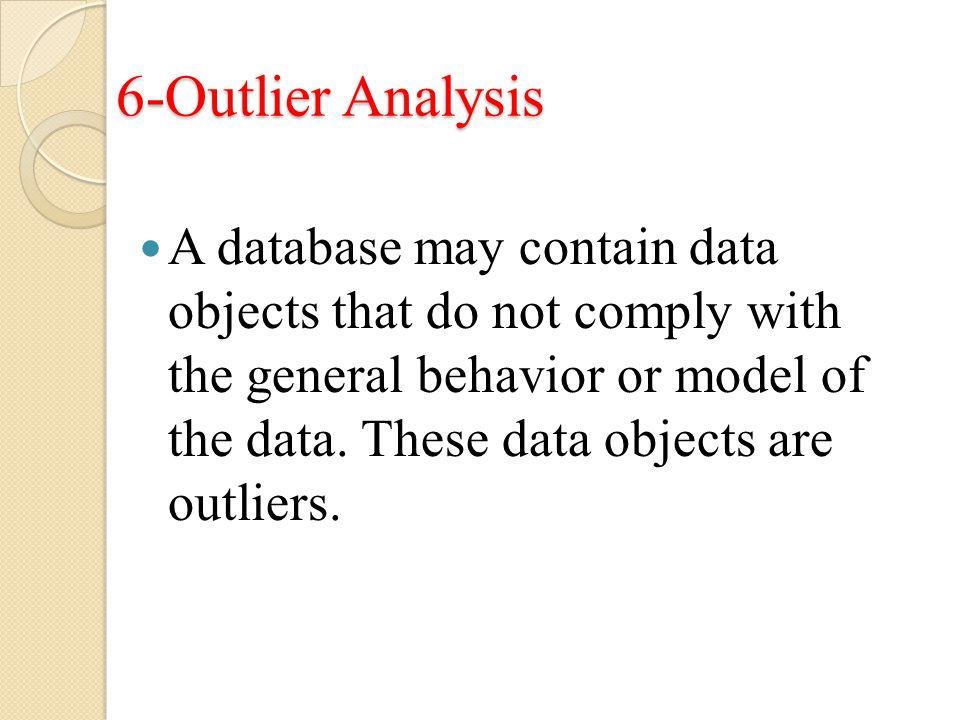 6-Outlier Analysis