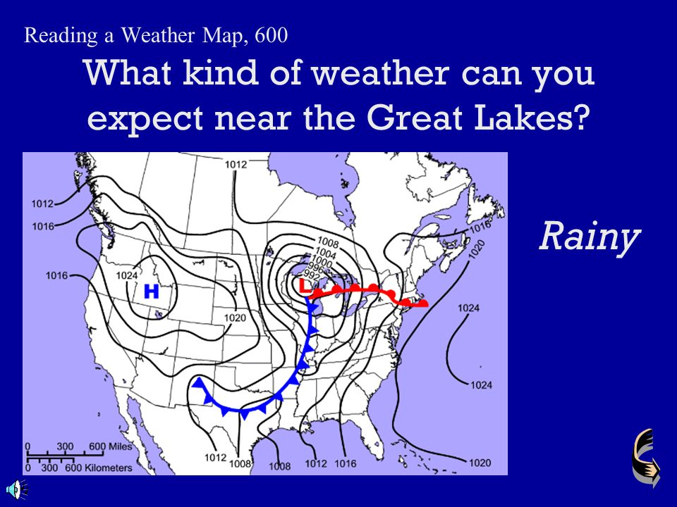 What kind of weather can you expect near the Great Lakes