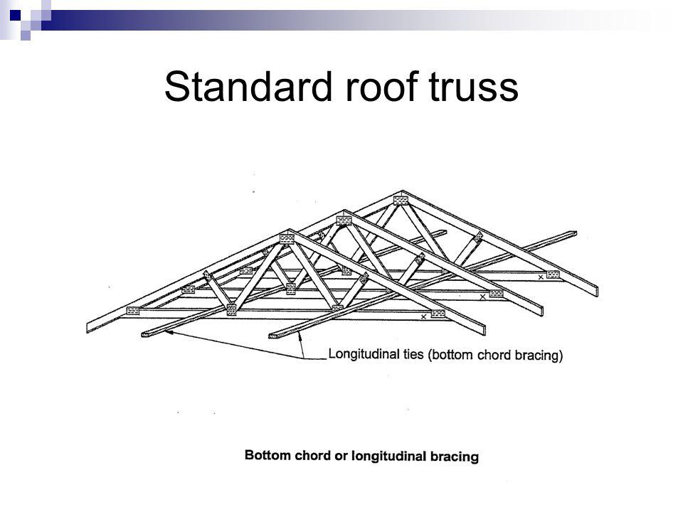 Standard roof truss