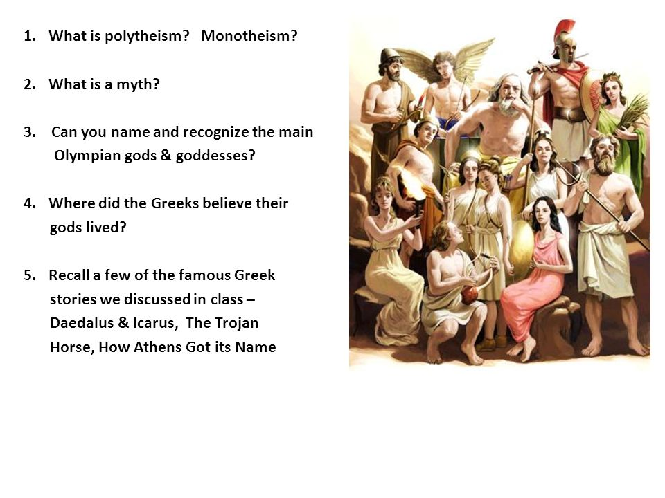 What is polytheism Monotheism
