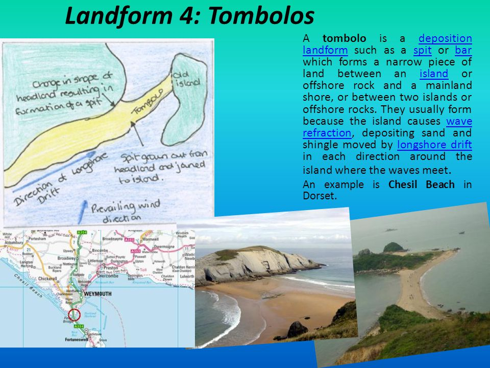 Landform 4: Tombolos